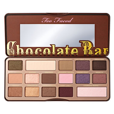 wishlist too faced chocolate bar palette
