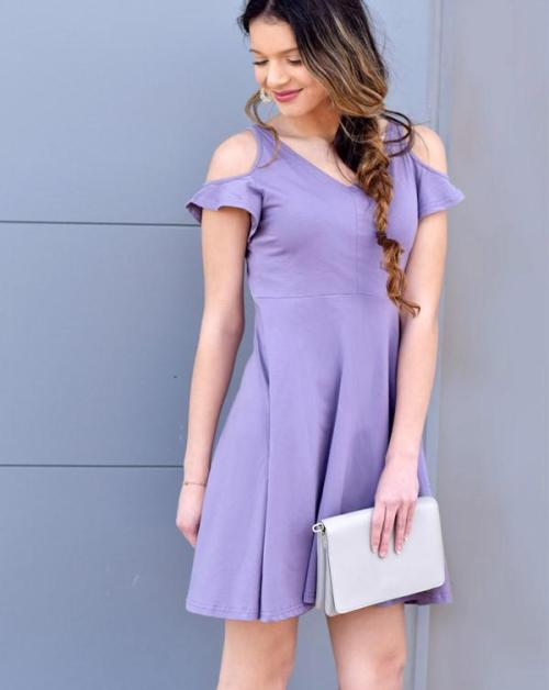 cold shoulder dress elegantees.jpg